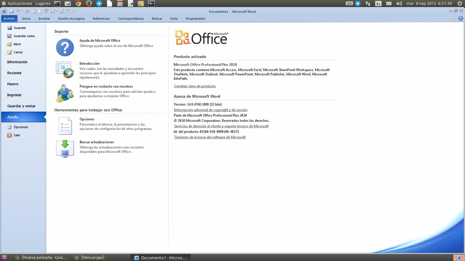 microsoft office 2010 activador