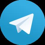 Telegram logo vector